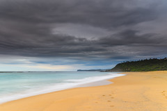 Winter at the Beach (Merrillie) Tags: daybreak wamberalbeach sand sunrise sea centralcoast nature water morning surf overcast wamberal weather newsouthwales waves earlymorning nsw australia beach ocean landscape waterscape sky coastal clouds outdoors seascape dawn coast cloudy seaside