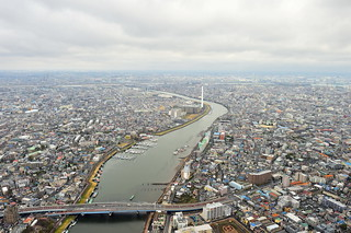 Kyu-Edogawa River, Chiba and Tokyo