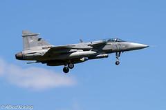 JAS-39C Gripen, 37, Hongarije (Alfred Koning) Tags: 37 epkspoznańkrzesiny exerciseoefening hongarije j39grippen jas39c locatie tigermeet2018 vliegtuigen