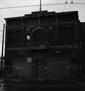 Abandoned Fire Station, Portland