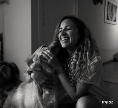 Mi Carmela (ZAP.M) Tags: retrato bn monocromo perra barcelona cataluña españa flickr zapm mpazdelcerro sony sonyevil sonya5100