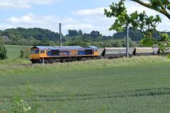 66768 (aledy66) Tags: 66768 6m54 1218 colnbrook lafarge gbrf bardon hill mml midland main line ef70300mm diesel freight train engine loco locomotive canon eos 6d 6d2 markii mk2 mkii railway railroad track rail