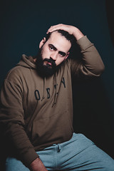 M27 (osmy04) Tags: portrait man hombre guy gay beard bear photoshoot lifestyle color nikon d750 buenso aires argentina