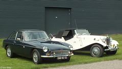 MG B GT & MG TD (peterolthof) Tags: peterolthof 09062018 leek carscoffee hofman dz2337 dm4235