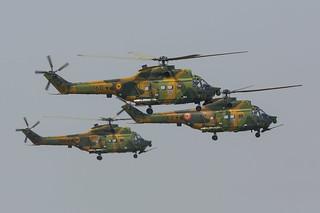 60, IAR 330 SOCAT Romania Air Force @ Campia Turzii LRCT