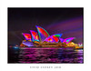 Sydney Opera House illuminated during Vivid Sydney (sugarbellaleah) Tags: sydneyoperahouse vividsydney vivid illiminated sails colour vibrant water ocean city architecture annual celelbration lightvibrant pattern textures event nightlife sydney urban night evening sydneyharbour circularquay