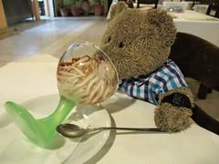I've got this licked! 48/51 (pefkosmad) Tags: tedricstudmuffin teddy ted bear holiday holibobs animal cute toy cuddly soft stuffed fluffy plush pefkos pefki pefkoi rhodes rodos greece greekislands griechenland hellas stellahotel