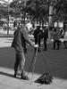 A photographer (Franco & Lia) Tags: street fotografiadistrada photographiederue fotografo photographer berlin berlino deutschland germany germania alexanderplatz biancoenero schwarzundweiss blackwhite noiretblanc