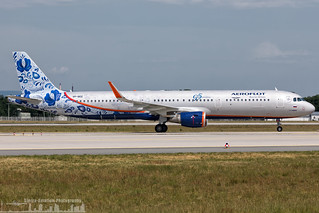 VP-BEE Aeroflot - Russian Airlines Airbus A321-211(WL) painted in 95th Anniversary special colours (FRA - EDDF - Frankfurt)