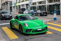 991 GT3 MkII Touring (Nico K. Photography) Tags: porsche 991 gt3 mkii touring rare supercars green makegreengreatagain nicokphotography switzerland zürich