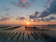 P1020691 (Mickey Huang) Tags: panasonic gx7 mk2 taiwan chia yi 東石 網寮漁港 landscape sunset sea cloud mft m43 gx80 gx85