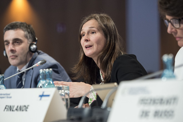 Virginie Dumoulin-Wieczorkiewicz contributes to the Open Ministerial Session