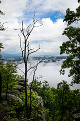 the overloook.jpg (McMannis Photographic) Tags: northcarolina pilotmountain mountain destination landscapeandnature travel clouds carolinas explore nc southeast tourism photography
