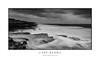 Cape Banks Panorama (sugarbellaleah) Tags: capebanks panorama landscape blackandwhite wild weather australia whitewater flow ocean seascape danger rocks rockshelf headland botanybay clouds moody