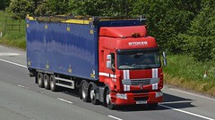 YX60 EER (panmanstan) Tags: renault premium wagon truck lorry commercial recycling freight transport haulage vehicle m6 motorway highlegh cheshire