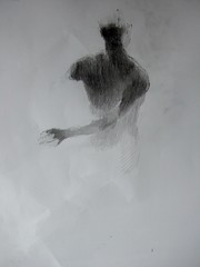 Nude (ben varney) Tags: art artnude nude naked drawing pencil paper woman pastel figure man