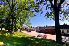 Friday afternoon, 1st June 2018; from The Old Town (Gamlebyen) – Fredrikstad (iharsten) Tags: smedjegaten oldtown gamlebyen fredrikstad norway june 2018 summer