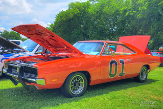 1969 Dodge Charger - The 'General Lee' - Granville, TN Heritage Days Car Show