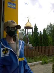 Gas Mask and Virgin Mary (1Q89) Tags: nuclear power station disaster чернобыль чернобыльскаяаэс chernobylexclusionzone