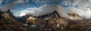Panorama in Tre Cime (Iván F.) Tags: pano panorama trecime lavaredo italy italian mountain nature lake sunset tourism landscape landscapes alpinism explore explorer exploration trekking photography sony a7r