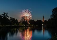Ankum Feuerwerk (andreasmally) Tags: ankum feuerwerk firework see artländerdom germany deutschland niedersachsen