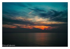 magic hour ## (kouji fujiwara) Tags: sunset dusk magichour sea seascape sigmadp2 sigma dp2