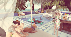 Its a pool day (ecerinei) Tags: sorumin bowillow figure8 since1975 {whatnext} ro af zenith anaposes arcade halfdeer imaginarium junkfood kustom9 littlebranch locktuft reign rowne truthhair