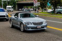 2005 Chrysler Crossfire SRT-6 (Rivitography) Tags: 7pr514 ma 2005 chrysler srt6 crossfire convertible blue gm generalmotors car fast sportscar greenwich connecticut 2018 canon rebel t3 adobe lightroom rivitography