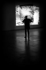 mind blown (bostankorkulugu) Tags: pirelli hangarbicocca bicocca milano italia milan italy lombardia art artwork pirellihangarbicocca fromsourcetopoemtorhythmtoreader exhibition rosabarba man silhouette light