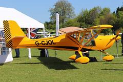 G-CJOL (GH@BHD) Tags: gcjol aeroproeurofox3k aeropro eurofox pophammicrolighttradefair2018 pophamairfield popham microlight aircraft aviation