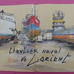 Sur le chantier naval de Lorient thumbnail