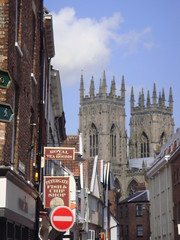 York Minster Towers (Rckr88) Tags: york minster yorkminster unitedkingdom united kingdom england britain greatbritain great europe towers yorkminstertowers yorkminstertower tower church churches spire spires building buildings architecture street streets road roads yorkshire city cities travel travelling