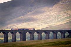 Ribblehead Viaduct (Photography - KG's) Tags: train railway landscape ribbleheadviaduct yorkshire