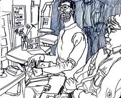 from l'enchanté by Yoann - 13 juin 1 (croquisdumercredi) Tags: croquis sketch rennes