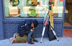 Homeless Old Man .... Toronto, Ontario (Greg's Southern Ontario (catching Up Slowly)) Tags: homeless streetperson torontoist homelesstoronto