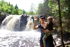 Duluth Day1 - 12 (Keppyslinger) Tags: family daughter wisconsin statepark pattisonstatepark nature amy waterfall
