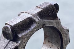 Connecting rod (erichudson78) Tags: macromondays transportation canonef100mmf28lmacroisusm macro connectingrod bielle steel metal acier métal