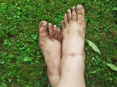 barefoot in nature 146 (dirtyfeet6811) Tags: feet toes barefoot dirtyfeet dirtytoes feetinnature