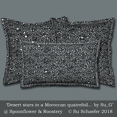 'Desert stars in a Moroccan quatrefoil... by Su_G': square & lumbar pillows mockup (Su_G) Tags: 2018 sug desertstarsinamoroccanquatrefoilbysug squarepillow lumbarpilllow mockup spoonflower roostery pillows cushions cushion squarecushion lumbarcushion homedecor softfurnishing softfurnishings interiordecor midnight stars astronomy night nightsky desertnightsky skyscape desertstars moroccanquatrefoil moroccan desert blackandwhite twinkling winking starlight