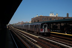 4 Train (dangaken) Tags: nyc newyorkny newyorknewyork ny empirestate bigapple usa unitedstates us america summer city urban green line4 trainmtasubwayelevatedelevated traintransittrainrailpublic transit161st street fuji fujiflim xmount dgaken dangaken photobydangaken