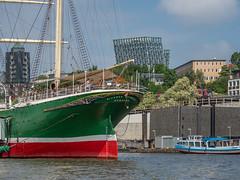 LR Hamburg 2018-5190159 (hunbille) Tags: birgittehamburg2018lr germany hamburg harbour sail boat sailboat ship rickmerrickmers rickmer rickmers elbe river