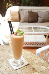 Cafe Runum (nearbyescape) Tags: hochiminh city travel vietnam escape vacation light cafe runum strawberry shake bokeh