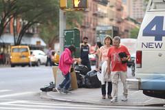 People on 9th Avenue at 49th Street. (kevinrubin) Tags: newyorkcity street streetphotography nyc newyork unitedstates us