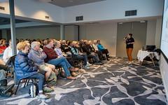 Dr Angela Crean (Eddy Summers) Tags: drangelacrean angelacrean genetics talk speaking publicspeaking lecture lesson education science scienceatthelocal bluemountains