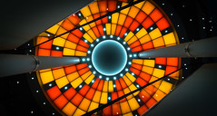 Iris (tom.leuzi) Tags: 11mm architektur bern berne blackstone canoneos6d irix irix11mmf4 schweiz switzerland uwa architecture art escalator indoor symmetric symmetry ultrawideangle wankdorf wankdorfcenter mall