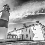 Souter Lighthouse B&W thumbnail