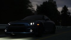 GTR | GTA V (Stellasin) Tags: angeles gaming game dark darkness car cars water beauty beautiful blur city clouds downtown mods engine weather reflection graphics gtav gta hot highway photography night sky los mountains motion overcast road trees screenshot sunset sunrise v