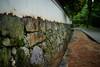 石積みと白壁