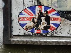Remove them/Help the homeless I (aestheticsofcrisis) Tags: street art urban intervention streetart urbanart guerillaart graffiti postgraffiti london uk great britain england shoreditch hackney rip stencil schablone pochoir pasteup wheatpaste