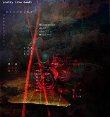 poetry like death (prole pinion) Tags: layers layering photoshop poem poetry